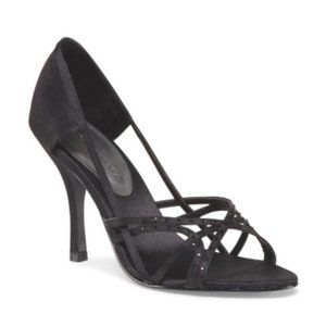 Chinese Laundry Black Daniela Strappy Pumps 9.5